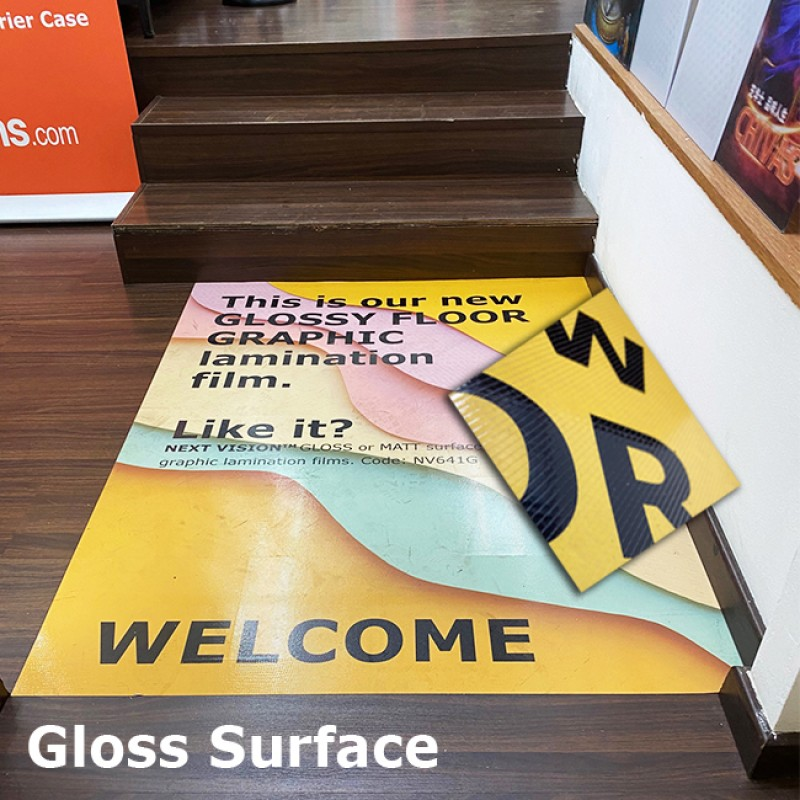 Floor Graphic Lamination Film (NV641G) - Glossy