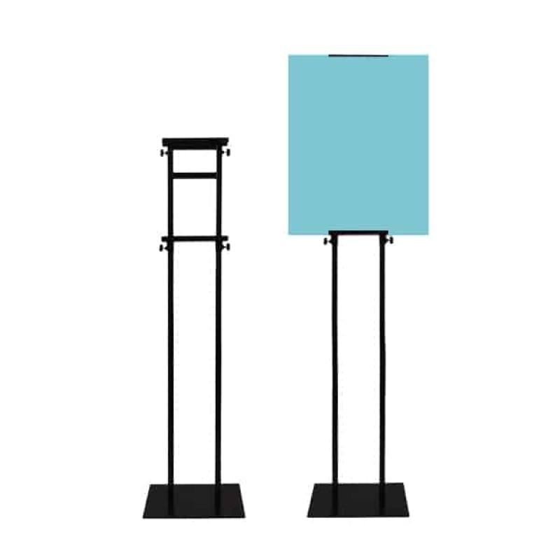 Premium Frame Stand (Metal) - Black
