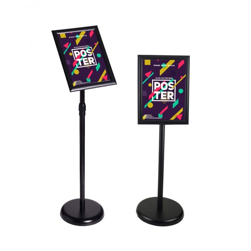 Signage Stand with Snap Frame