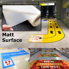 Floor Graphic Lamination Film (NV640M) - Matte