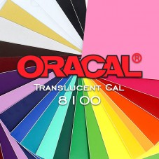 Oracal 8100 F010 - Translucent White - 1.26M x 50M
