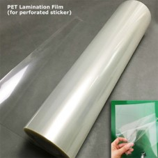 PET Lamination Film (for Perforated Sticker)