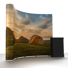 CURVE Magnetic Pop Up Display System