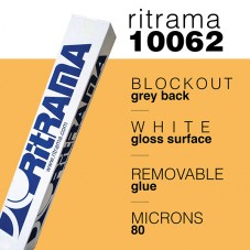 RITRAMA - 10062 White Gloss Rem Grey