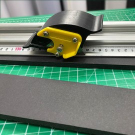 Sliding KT Board Cutter Ruler
