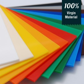 Acrylic Solid Sheet - 1220x2440mm - Yellow [PRE-ORDER]