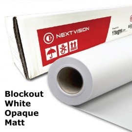 Block-Out Sticker - Matt (White Opaque Backing) (NV395MO)