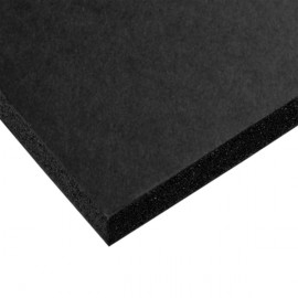 BLACK Kapaline - 5mm Paper Foam Paper Board - 1220x2660mm