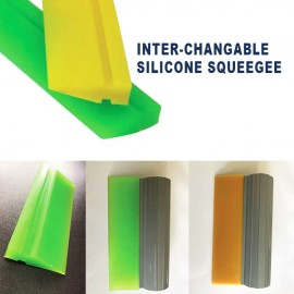 INTER-CHANGABLE Silicone Squeegee