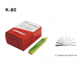 Pen-Knife Cutter Spare Blade (K-80) (1pkg=10pcs)