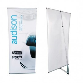 L-Stand (System Only) - Silver - 500 x 1300mm