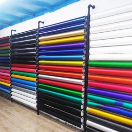 Wall-Mounted Roll Material Rack